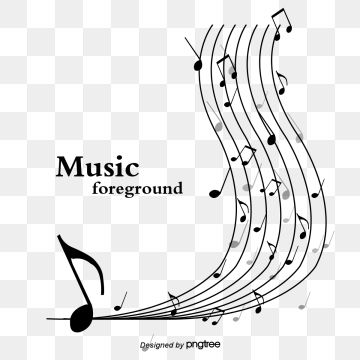 Black And White And Read Music Notes Music Clipart Black And White Stave Png Transparent Clipart Image And Psd File For Free Download Cool Background Music Music Notes Music Festival Poster