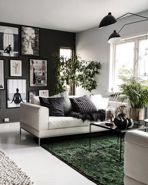 Comment décorer votre salon avec le gris et le blanc ?   All ...