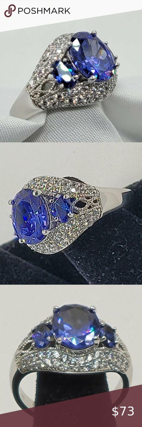 Check out this listing I just found on Poshmark: Women's Charles Winston 925 tanzanite ring. #shopmycloset #poshmark #shopping #style #pinitforlater #Charles Winston/ Bella Luce #Jewelry