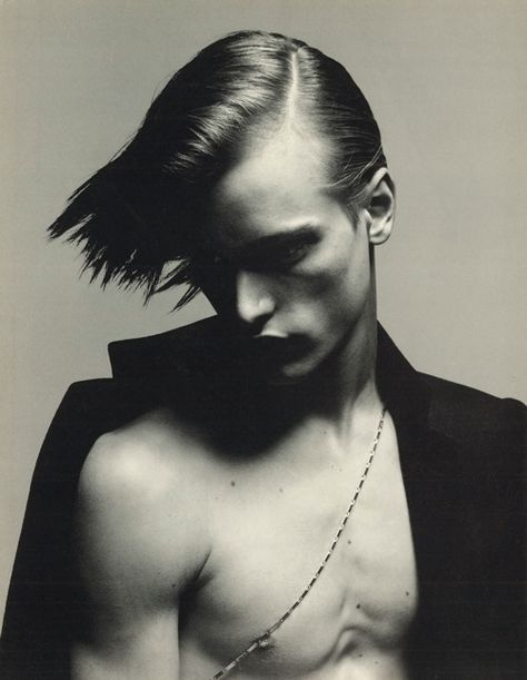 eric van nostrand by richard avedon for dior homme, aw01.