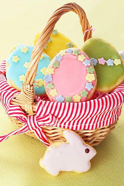 Festive Easter Cookies #Easter