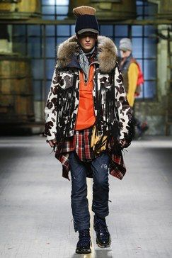 Dsquared2 Fall 2017 Menswear Fashion Show Collection