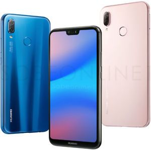 New Huawei P20 Lite 32gb 4gb Dualsim Factory Unlocked 5 8 Black Blue Pink Smartphones For Sale Pink Cell Phones Huawei