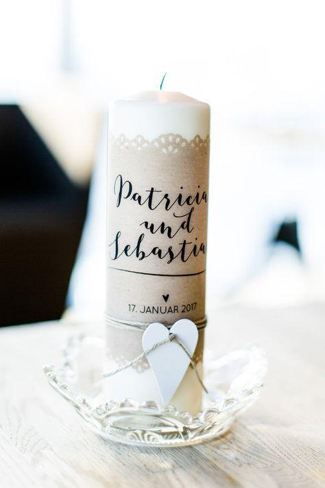 Hochzeit Im Ice Q In Solden Hochzeitskerze Vintage Kerze