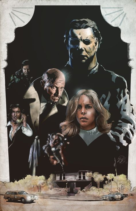 Halloween 30th Special Cover by salvagion on DeviantArt