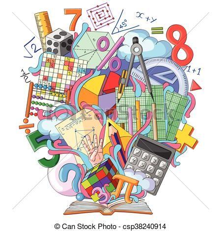 mathématiques, livre, connaissance Vecteur - Banque d'illustrations,  illustrations libres de droits, banque… | Illustration vectorielle,  Mathématiques, Illustration