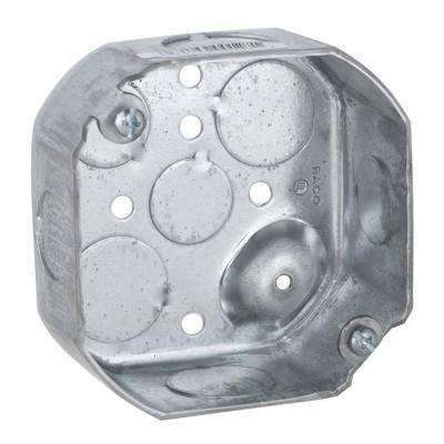 4 In Drawn Octagon Electrical Box Raised Ground Electric Box Octagon Fittings