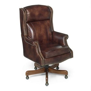 Traditional Executive Chair In Leather 55086 And More Lifetime Guarantee Leather Office Chair Home Office Chairs Chair