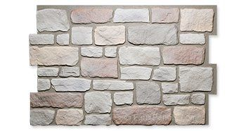 Carlton Cobblestone Summer Tan Panel W 48 1 4 H 30 1 2 1 Thick Exterior Rock Siding Stone Facade Faux Stone