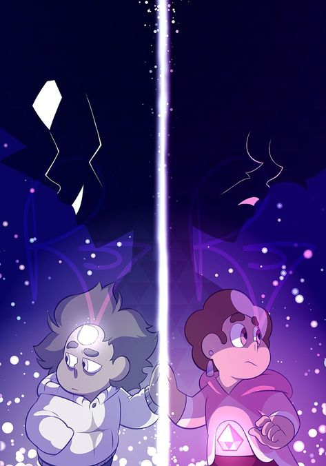 Just a gift I wanted to make for @thechekhov~ | Steven Universe Fan Art Crystal Gems Homeworld White Pink Diamond
