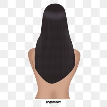 Hand Drawn Beautiful Long Haired Girl Back Character Design Hand Painted Beautiful Girl Png Transparent Clipart Image And Psd File For Free Download In 2020 Long Hair Styles Character Design Girl