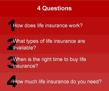 4 Important Questions To Ask About Life Insurance Life Insurance