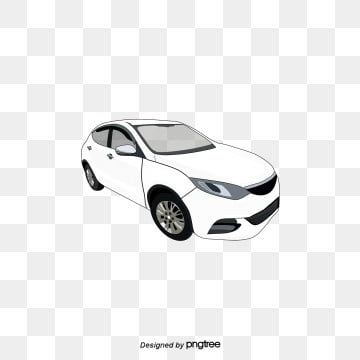 Creative Illustration Elements Of White Handpainted Cars Car Clipart Png Car Traffic Png Transparent Clipart Image And Psd File For Free Download Creative Illustration Retro Cars Clip Art