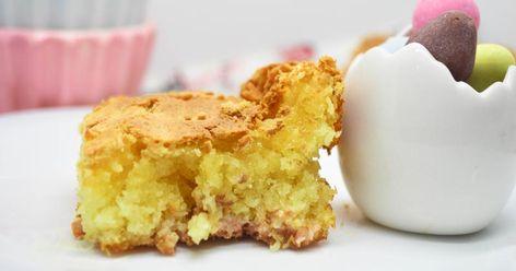 Brownie De Chocolate Blanco Y Coco Facil Y Delicioso Recetas