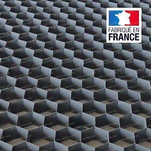 Plaque Stabilisation Gravier Nidagravel Gris 120x80cm X Haut 29mm 0 96 M2 Gravier Revetement Terrasse Et Feutre Geotextile