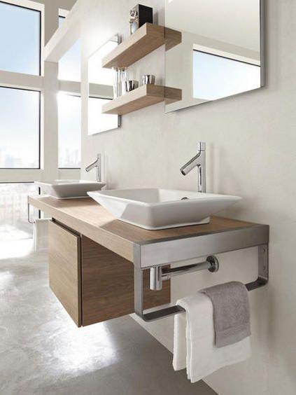 Decoração e Ideias: 10 Casas de banho com mobiliário moderno