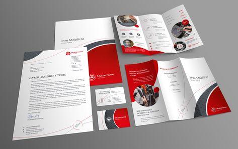Corporate Design Vorlagen Für Werkstätten Vom Powerpoint