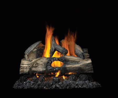 Napoleon Gl28n 1 049 00 Gas Logs Wood Fireplace Installation