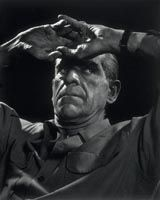 Boris Karloff (1887-1969), 10 February 1946, Yousuf Karsh