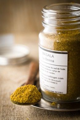 Masala Epices Roellinger by Beena (Photo : Franck Hamel)