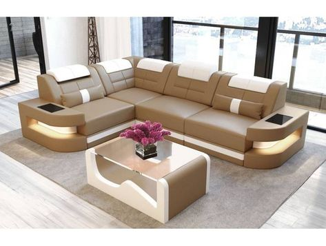 Sofa Dreams Ecksofa Como L Form Braun Ohne Bettfunktion Sandbeig Corner Sofa Design Living Room Sofa Design Modern Sofa