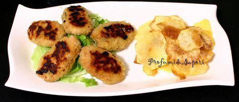 Profumi&Sapori: Crocchette di pollo con chips di patate