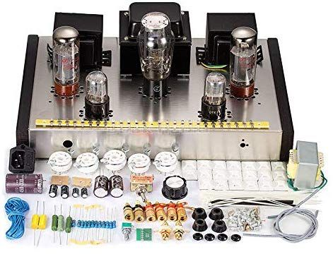 Amazon Com Nobsound El34 Class A Single Ended Tube Amplifier Stereo Hifi Amp Diy Kit 1set Home Audio Theater Amplifier Hifi Electronic Kits