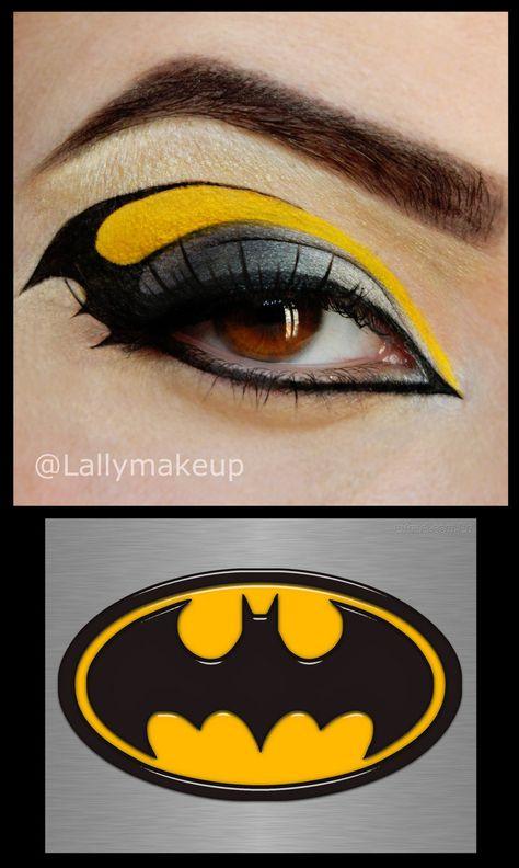 † Deadly cool Make Up † Batman Makeup von Lally-Hime auf deviantART Prevent Hair Loss With Good Groo Bat Makeup, Crazy Makeup, Costume Makeup, Worst Makeup, Prom Makeup, Maquillage Halloween Clown, Maquillage Yeux Cut Crease, Makeup Mistakes, Colorful Makeup