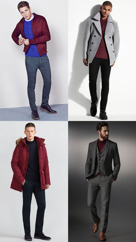 Winter Colours - Our Top Style Tips - Men Style Fashion