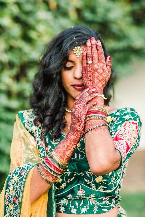 Vibrant Multicultural Wedding #multiculturalwedding #vibrantwedding #weddinghenna