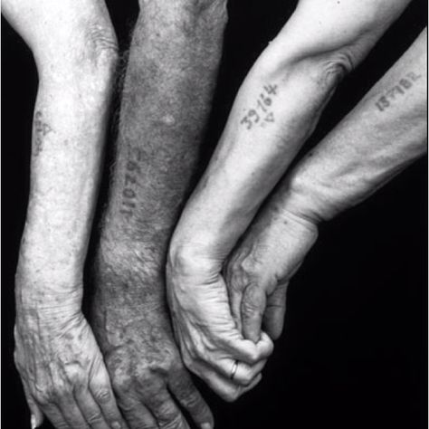 In NY where I grew up, where it was common to see older Jewish men and women with the numbers tattooed on their arms from the concentration camps where they had been incarcerated.     These survivors inspire me with their perseverance, will to live, and their ability not only to assimilate but to thrive in a new culture after being subjected to such unthinkable evil.
