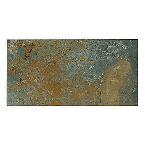Copper Rust Slate Subway Tile 3 x 6 in.
