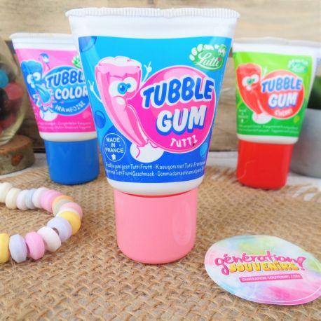 Tubble Gum Chewing gum en tube Bonbons 80 Génération