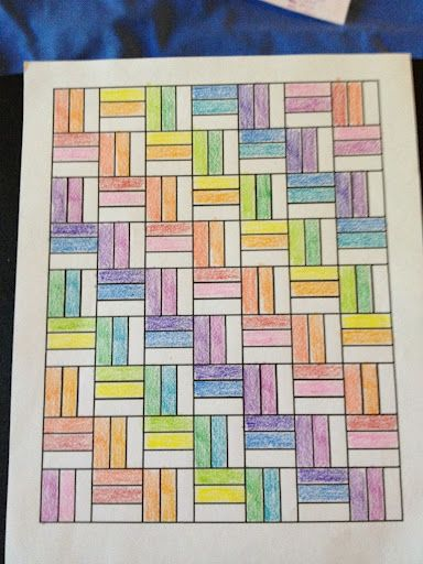 I like the repeated pattern of this one