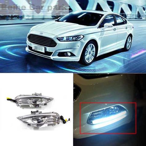 2pcs For Ford Mondeo High Quality Car Styling New Led Drl Car