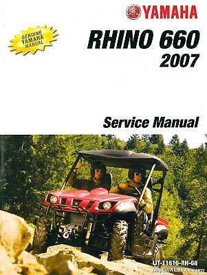 Advertisement Ebay 2004 2007 Yamaha Yxr660f Rhino Side X Side Service Manual Lit 11616 Rh 68 Yamaha Creative Business Business Innovation