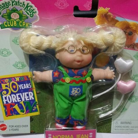 Vintage 1998 Cabbage Patch Norma Jean 14 Mercari Anyone Can Buy Sell Cabbage Patch Kids Cabbage Patch Babies Cabbage Patch