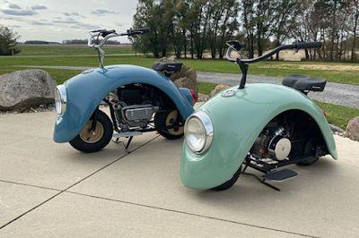 A Snail Likened Mini Bike Creeping On The Streets Dengan Gambar