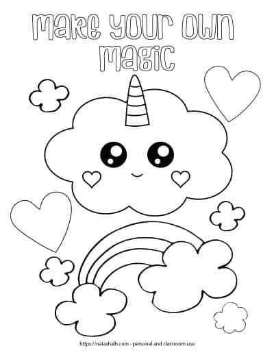 21 Free Inspirational Coloring Pages For When You Re Having A Tough Day The Kids Printable Coloring Pages Free Kids Coloring Pages Unicorn Coloring Pages