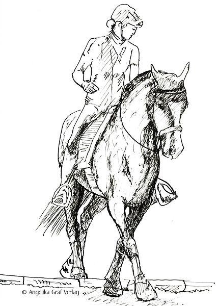 pferde ausmalbilder dressur  aiquruguay