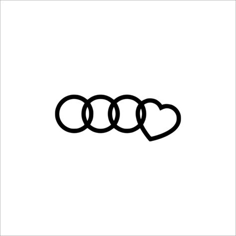 I Love Audi Decal – Vleporama decal shop and prints - Cars and motor