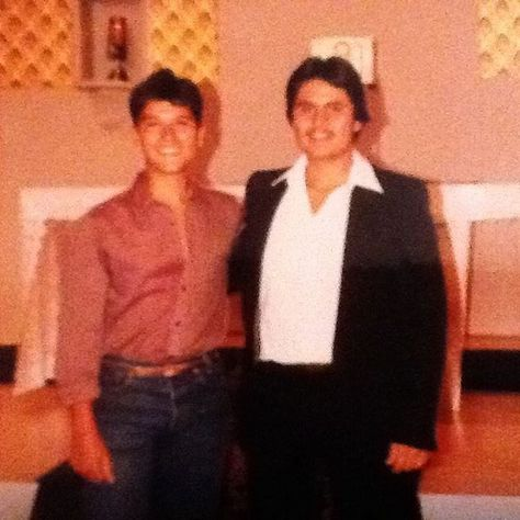 Theres sometime in the early 80s when I was brand new! Im at church with my uncle George.  Theres sometime in the early 80s when I was brand new! Im at church with my uncle George. #coffeelover #turnbacktime #fuckofffriday #80s #homemadecocktails #instahub #friday #tweegram #wired #instagood #coffeehouse #coffee #silly #espresso #coffeeshop #instagood #clubsocial #instagroove #ig_daily #fbf #flashbackfriday #freshcoffee