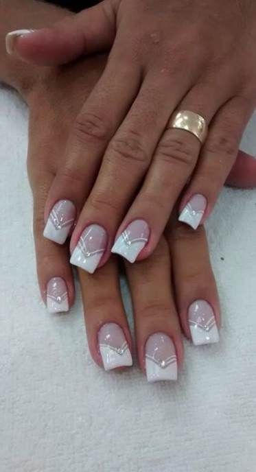 Trendy Nails Design Ideas French 49 Ideas