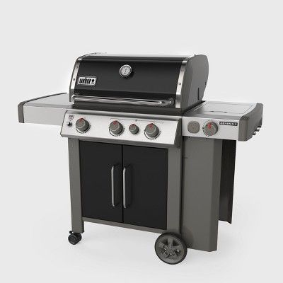 Weber Genesis Ii E 335 Lp 61016001 Black With Images Gas And Charcoal Grill Gas Grill