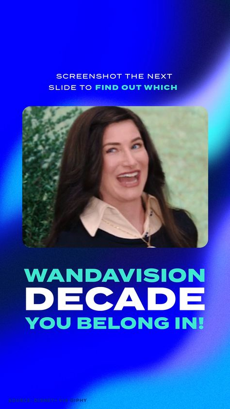Which WandaVision Decade Do You Belong In?