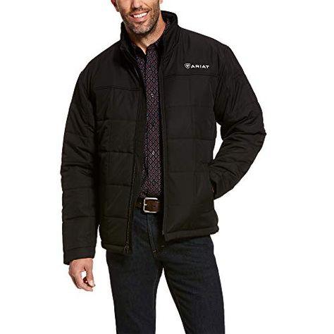 ARIAT Men's Crius Insulated Jacket Black | Jodyshop