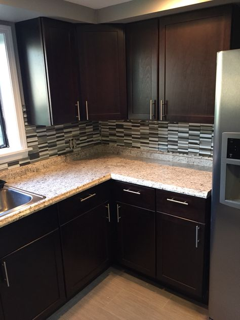 Home Depot Stock Hampton Bay Java Kitchen Cabinets With Lowes Ouro