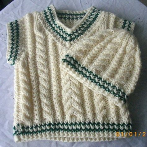 3d7010b8f Eamonn cable pullover and hat - knitting pattern
