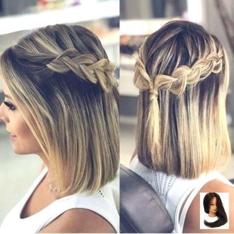 Abschlussball Ausgefallen Frisuren Frisur Kurz Haarfrisur Frisur Frisur Prom Hairstyles For Short Hair Thick Hair Styles Hair Styles