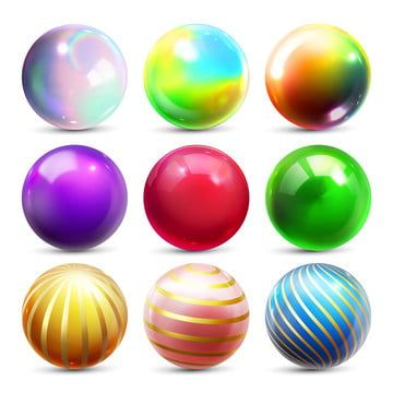 Shine Sphere Set Vector Orb Shining Ball Glowing Metal Or Plastic Abstract Circle Glossy Shine Icon Gold Stone Clear Bubble Crystal Magic Symbol 3d Realistic Il Magic Symbols Crystal Magic Globe